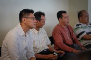 Suhardi Ismadi, Rafie Omar and Ahmad Jasman